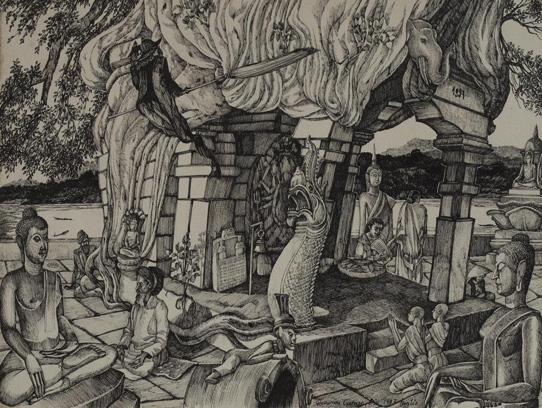 Il mio 1997, Ink, 50×36 cm