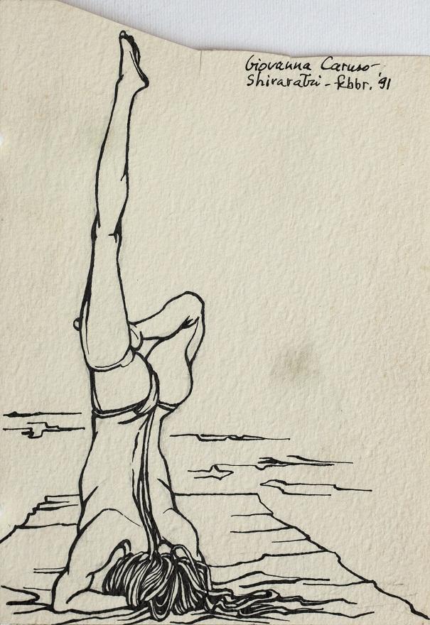 Serie Shivaratri 0.12, Ink, 12×18 cm