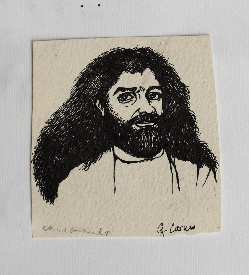 Serie Shivaratri 0.13, Ink, 12×18 cm