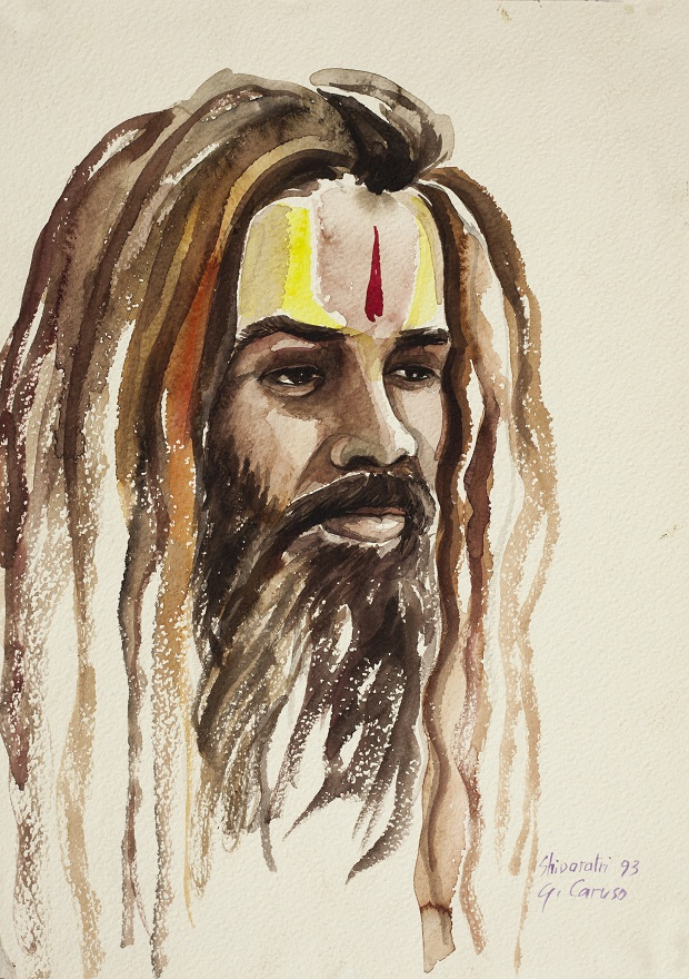 Baba, Watercolor, 25×36 cm