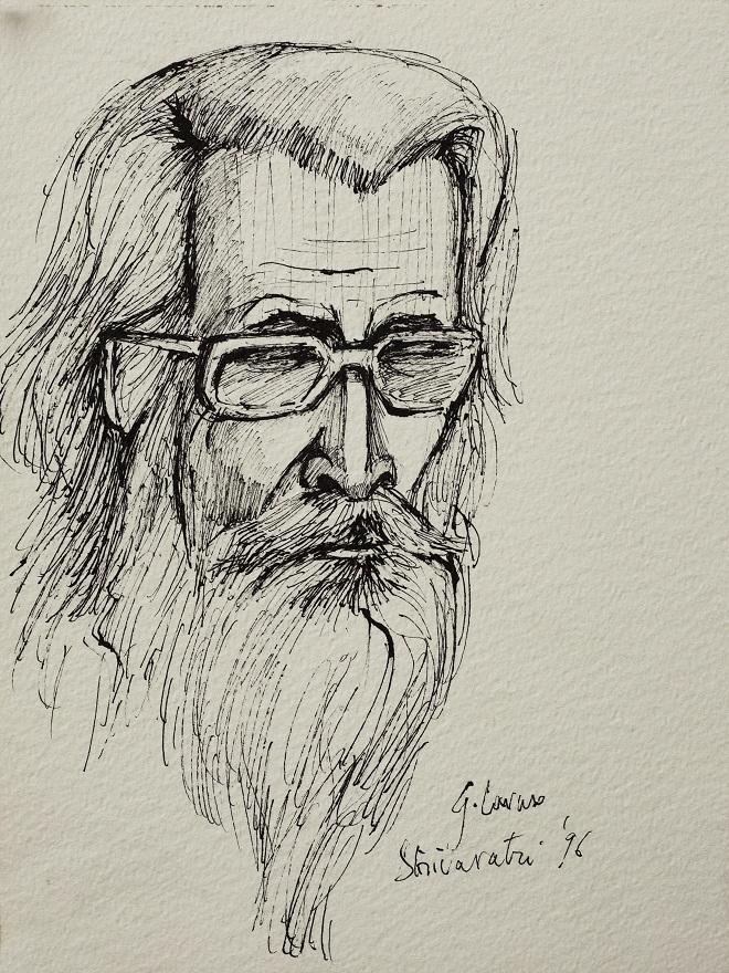 Shivaratri 0.2 1996, Ink, 23×31 cm