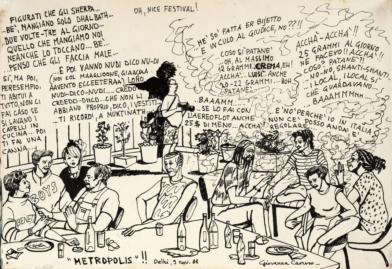 Metropolis!, Ink, 36×25 cm