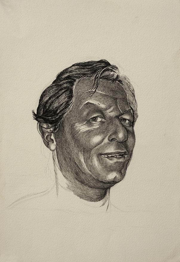 Giacomo, Ink, 31×46 cm