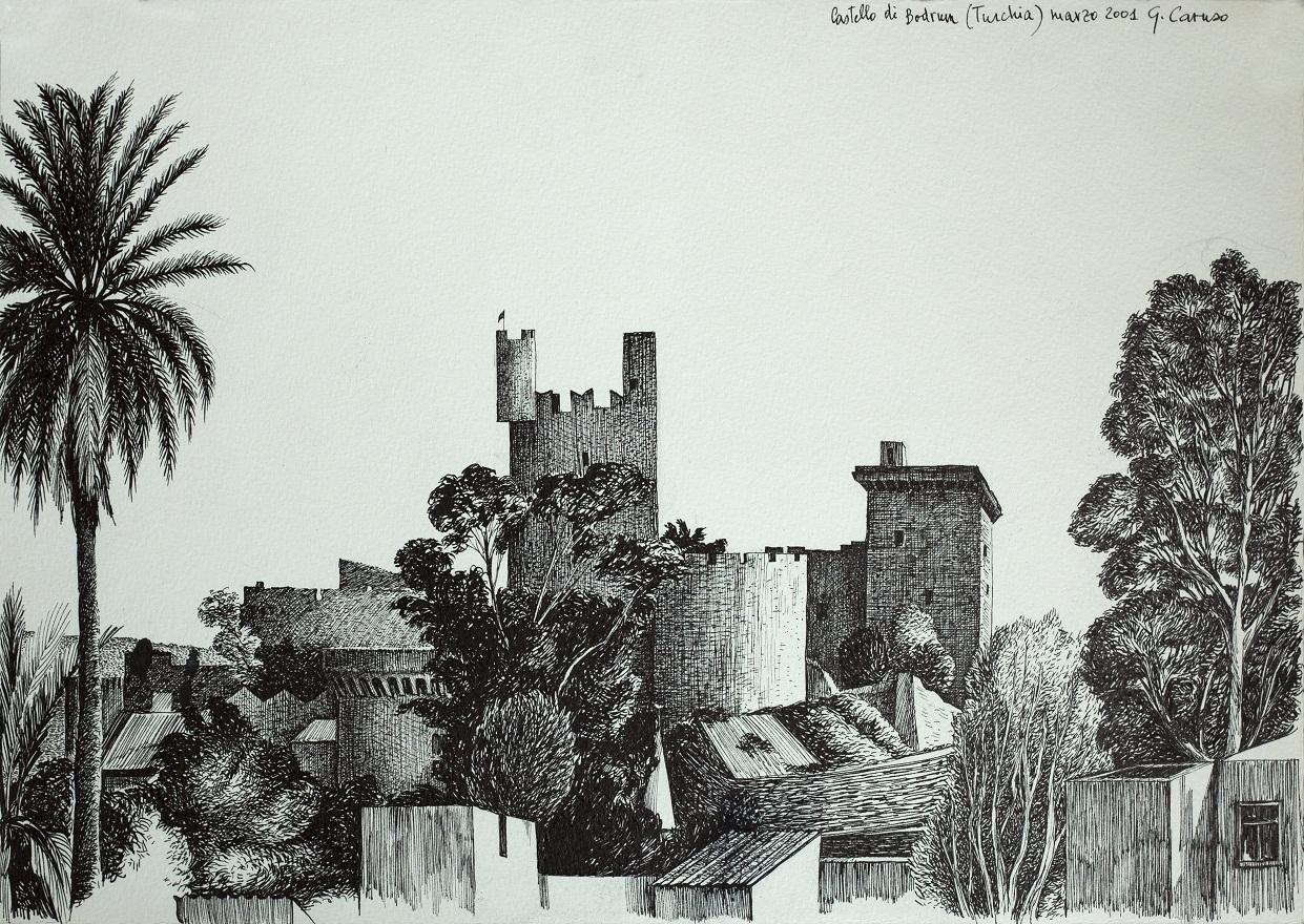 Bodrum, Ink, 31×23 cm