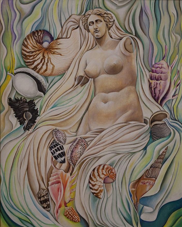 Venus, Oil, 50×74 cm